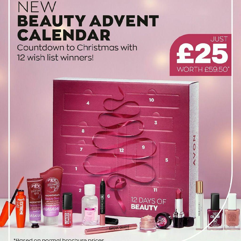 12 days of beauty advent calendar