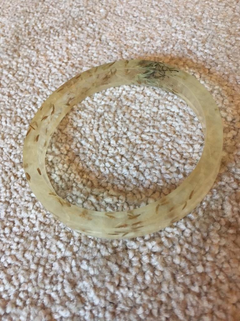 Handmade resin bangles