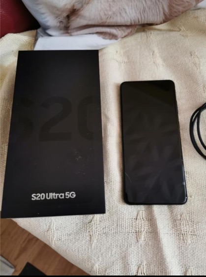 Samsung galaxy s20 5G ultra NEW