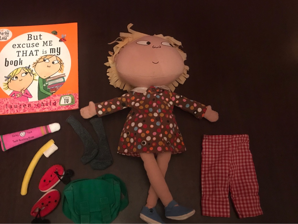 Fantastic Children's Talking Lola Doll, and accessories