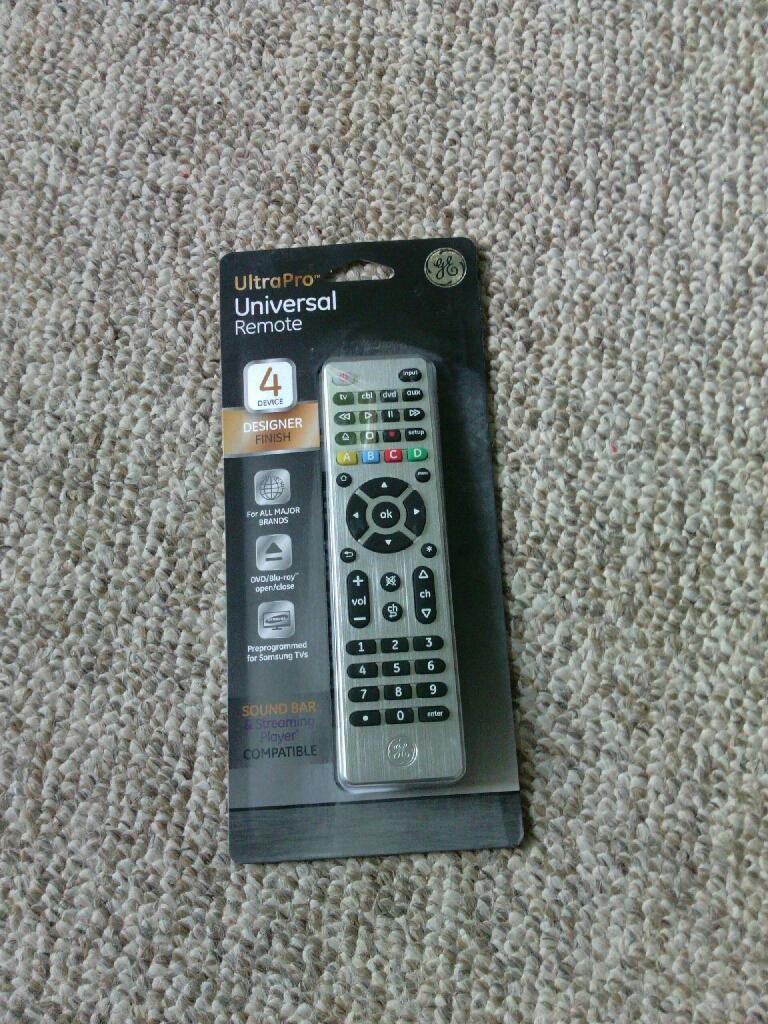 GE UltraPro Universal Remote