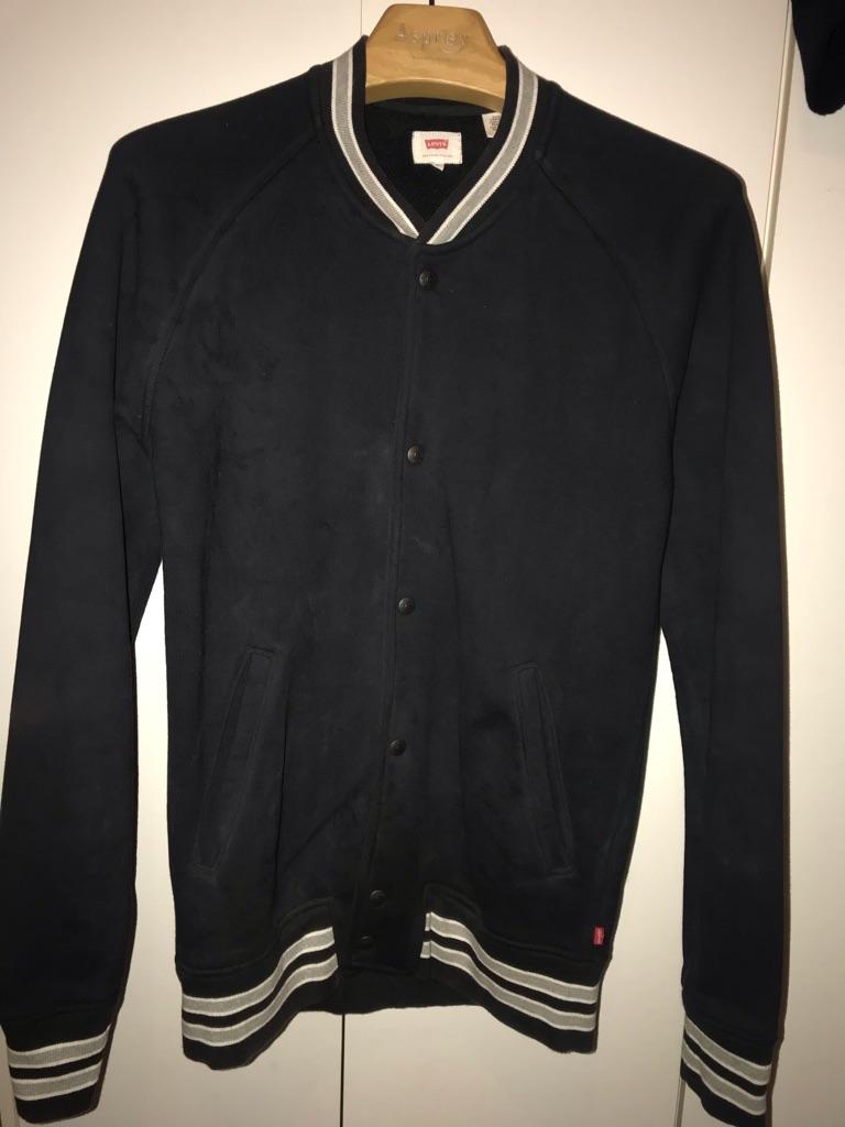 Levi's Bomber Jacket Size M Black