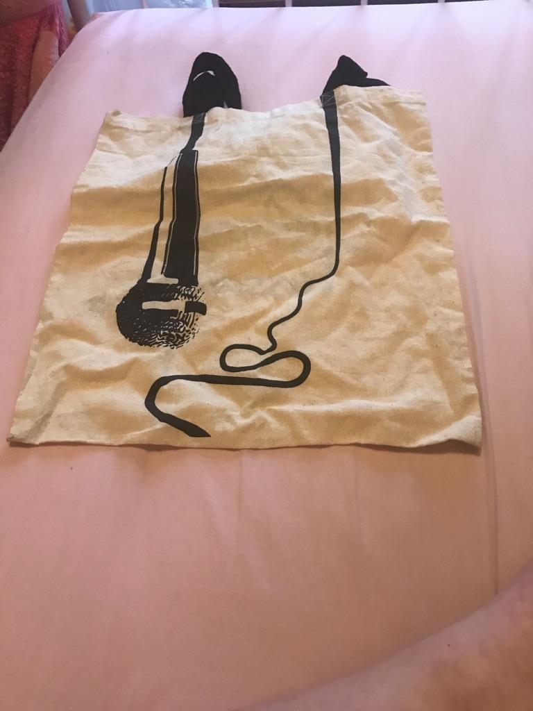 Madame Tussaud's tote bag