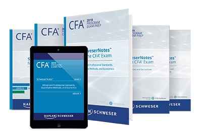 CFA Schweser Ebooks, Qbank, Quicksheet