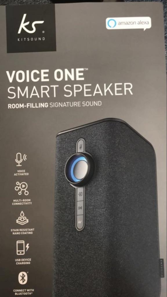 Voice one smart speaker