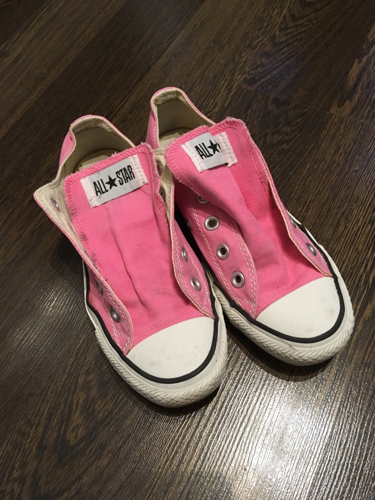 Pink convers (All Stars) ladies trainers
