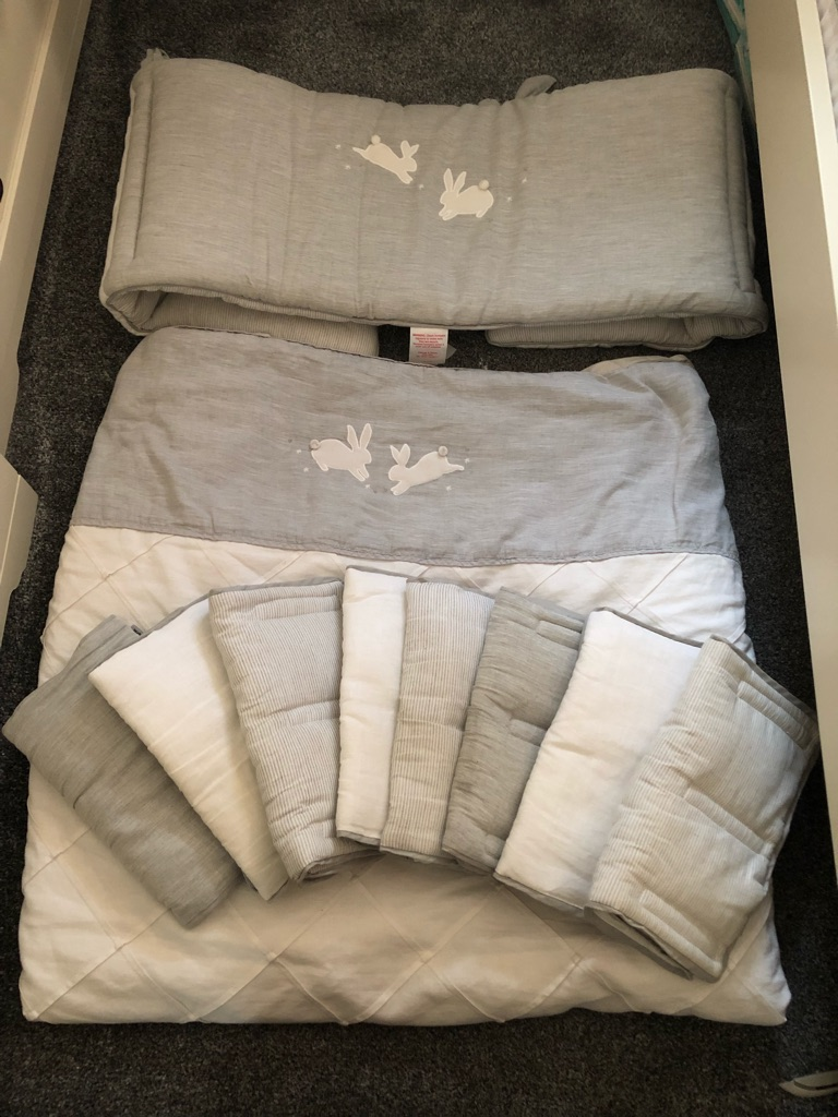 Mamas and Papas Welcome to the World cot bundle