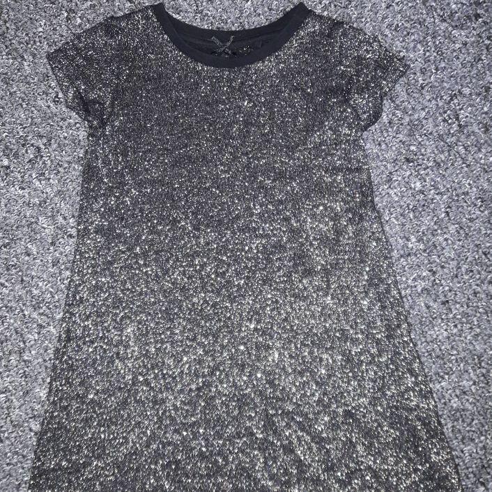 Girls glittery dress NEW age 2-3 years