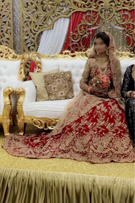 Indian Wedding Bridal Dress