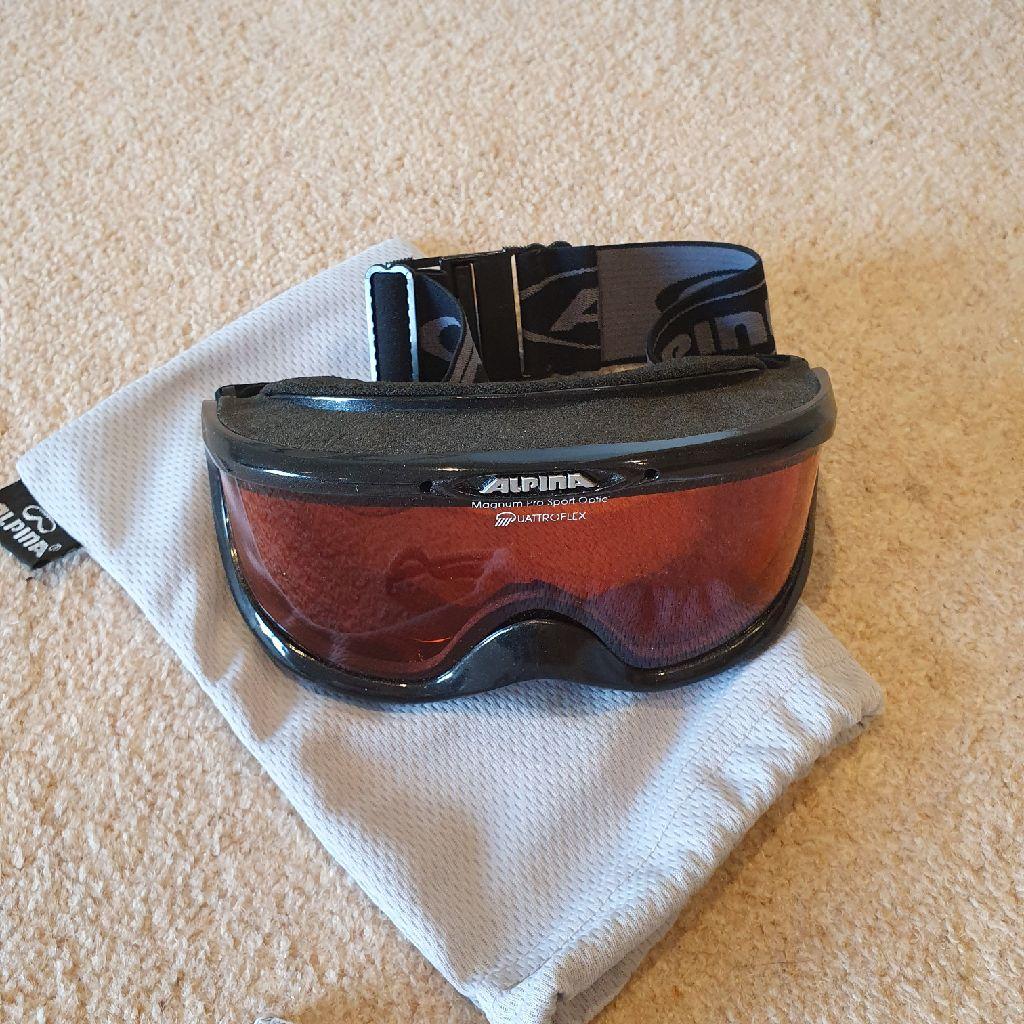 Alpina Ski Glasses v good condition