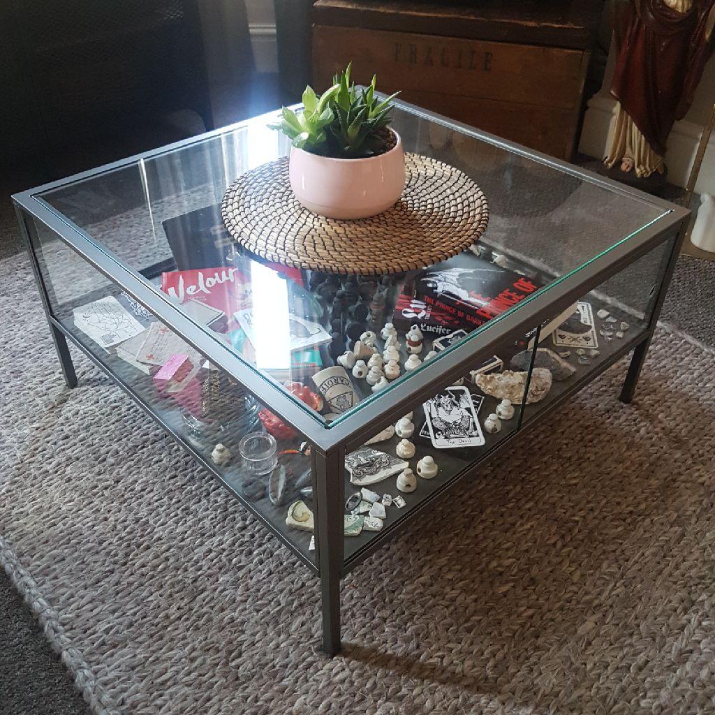 Ikea Glass Coffee Display Table