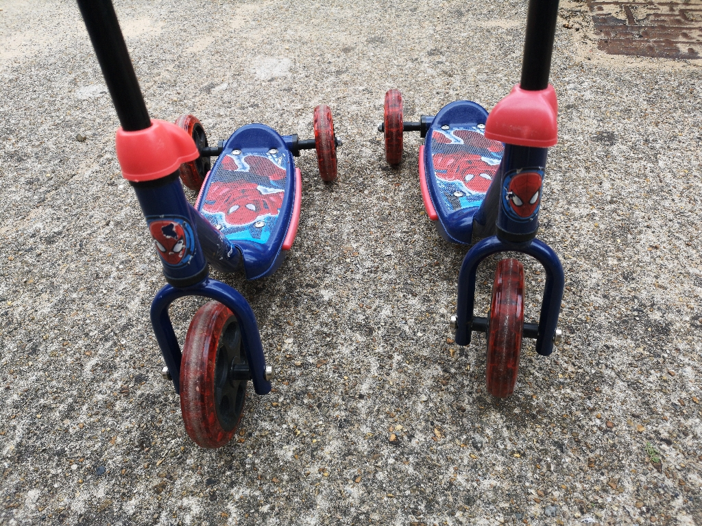 Spiderman Tri - Scooter