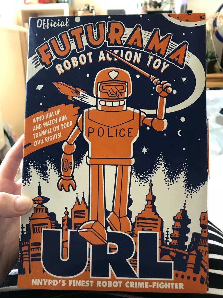 Futurama collectable