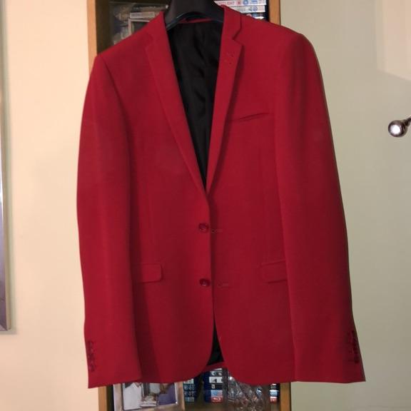 Rust ASOS suit