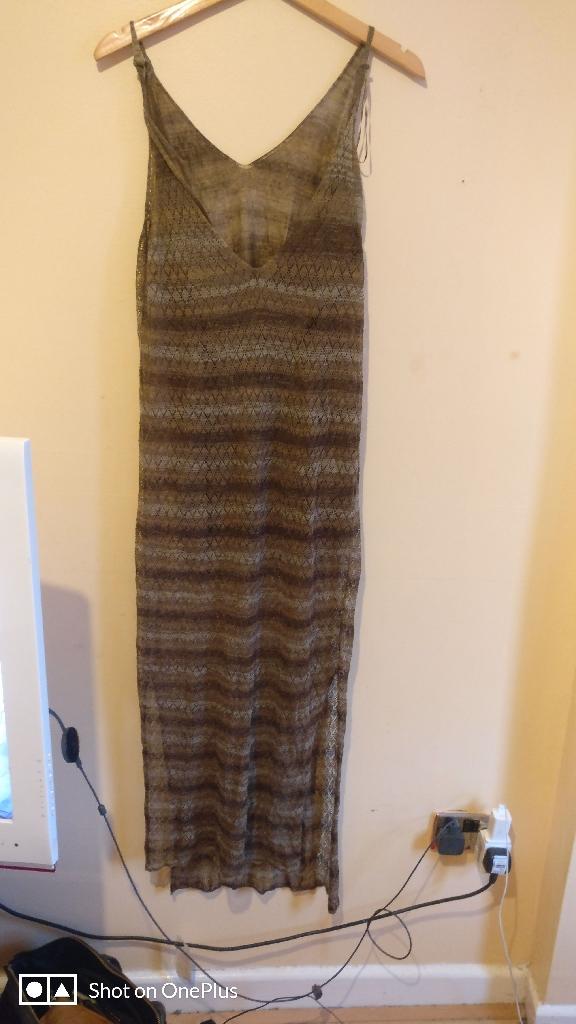 Zara dress 10 uk size