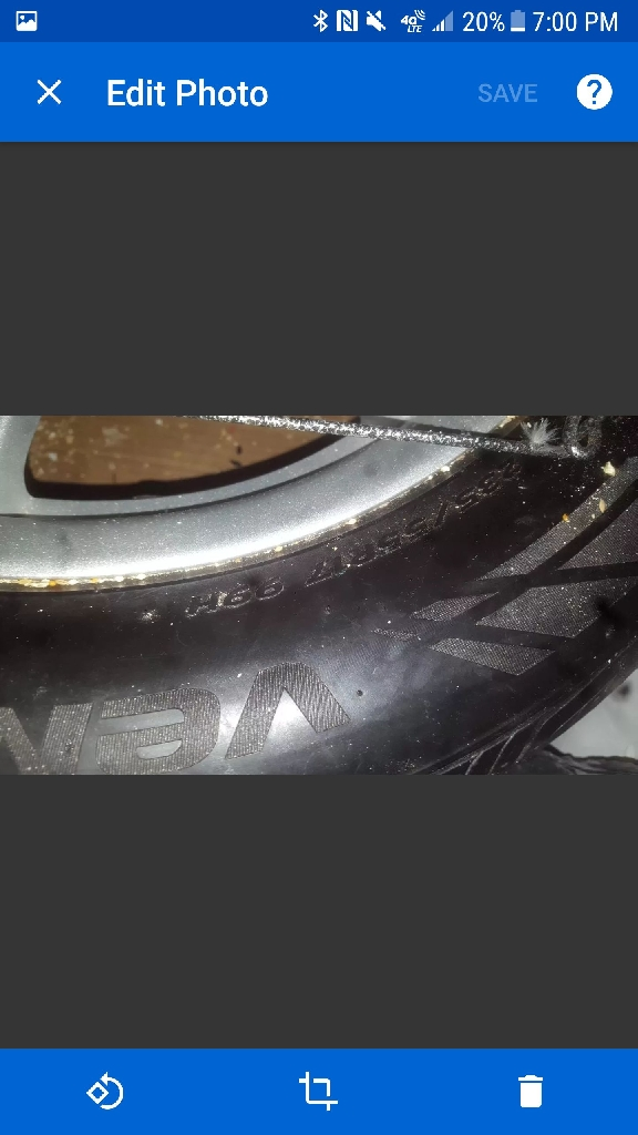 Ford mustang wheels used 4 tires with rim & the screws to the tires $400 for all
