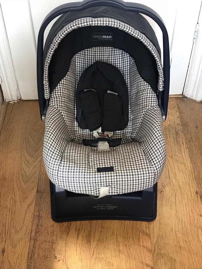 Mamas & papas car seat newborn -12/15 months