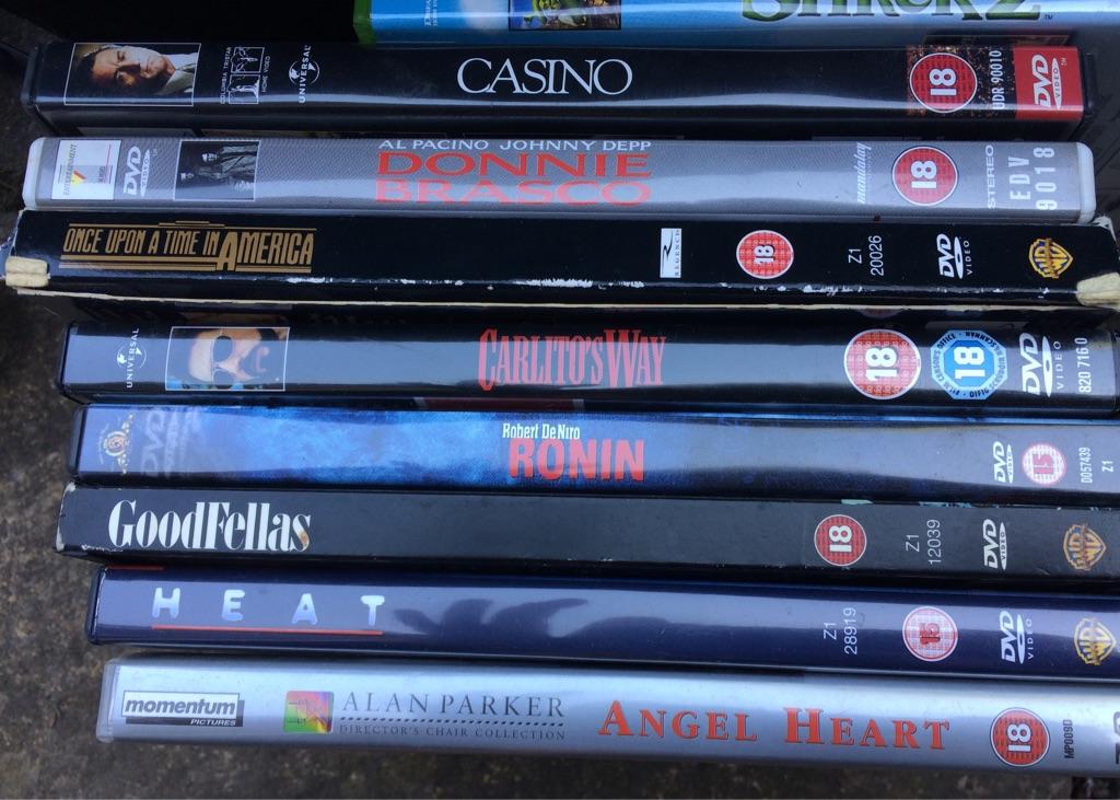 Bundles of DVDs