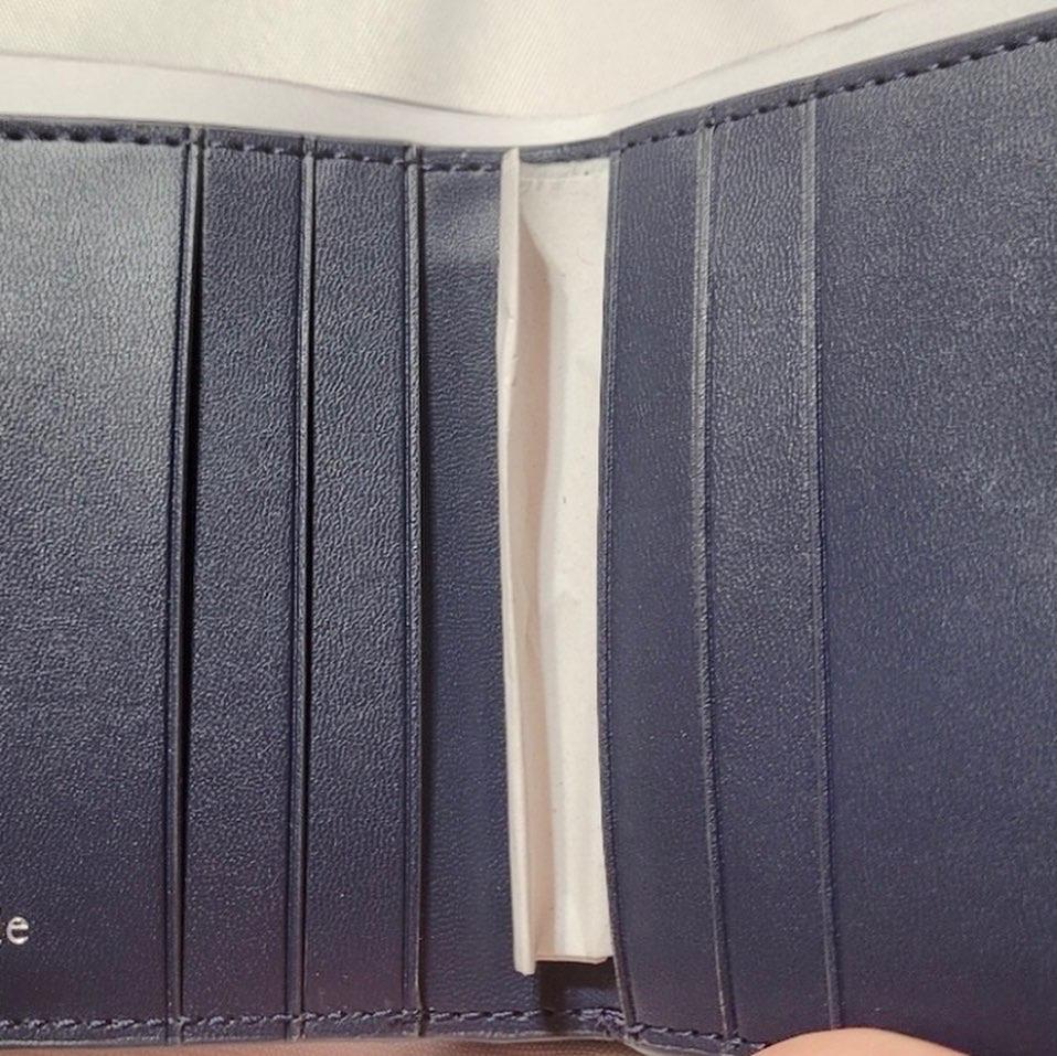 Kate Spade Navy Lola Glitter Wallet