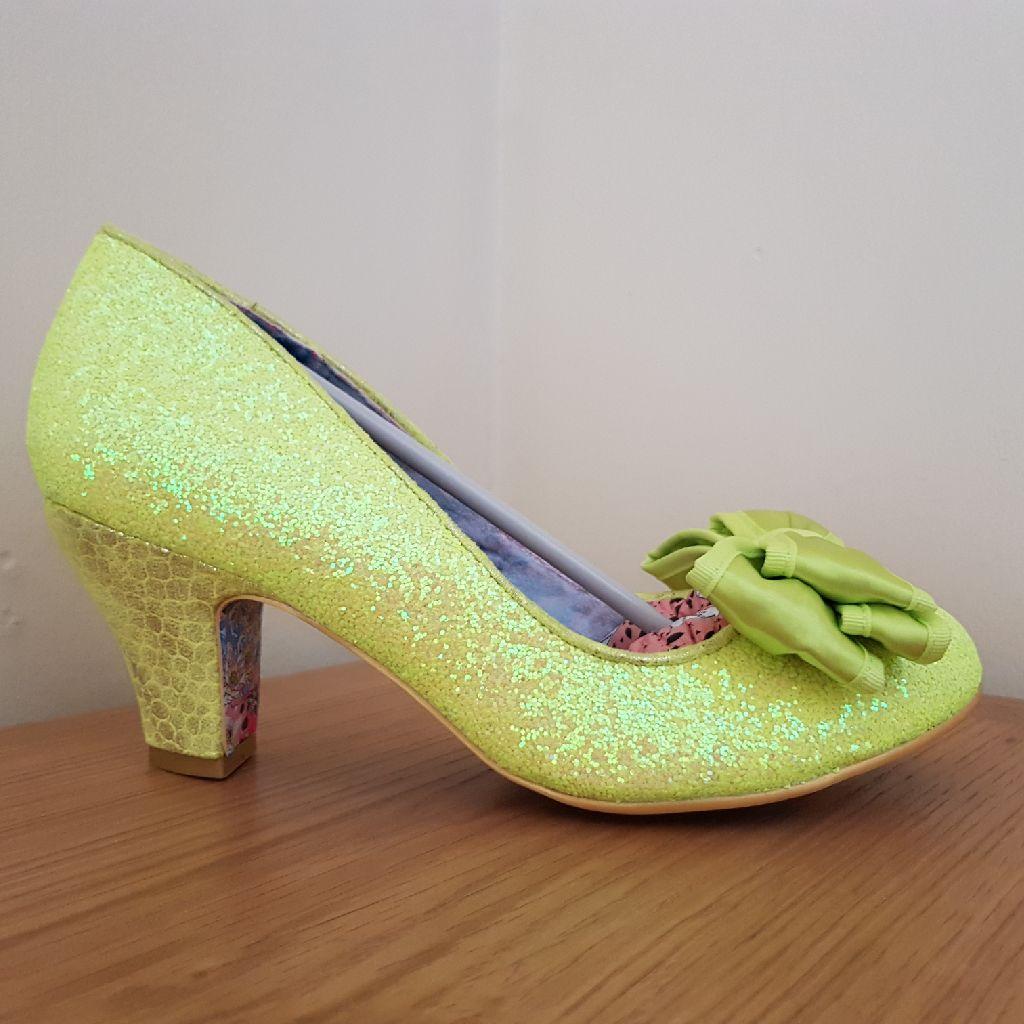 Irregular Choice neon yellow 'Ban Joe' size 41 BNIB