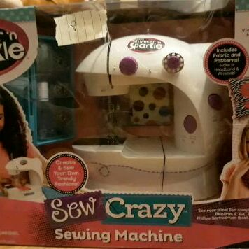 New Sewing Machine Shimmer n Sparkle Sew Crazy Sewing Machine