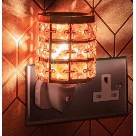 Crystal desire plug in lamps