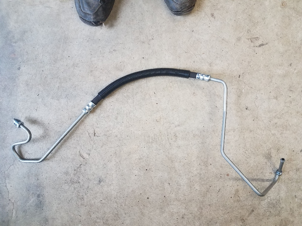 Pressure power steering hose