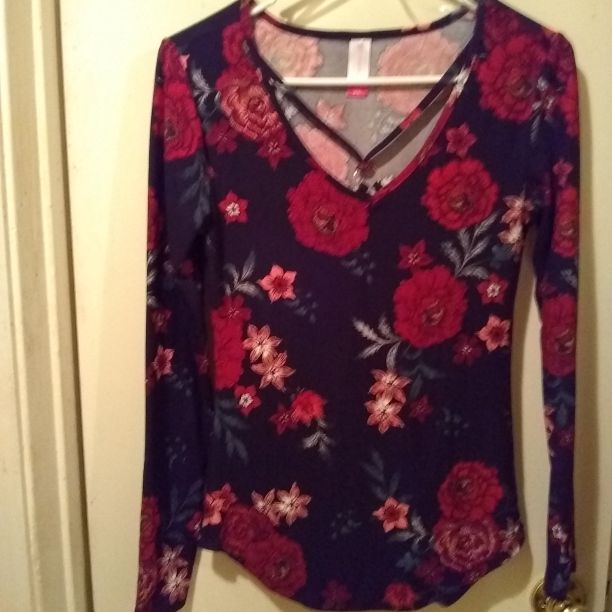 Floral Soft Long Sleeve Shirt