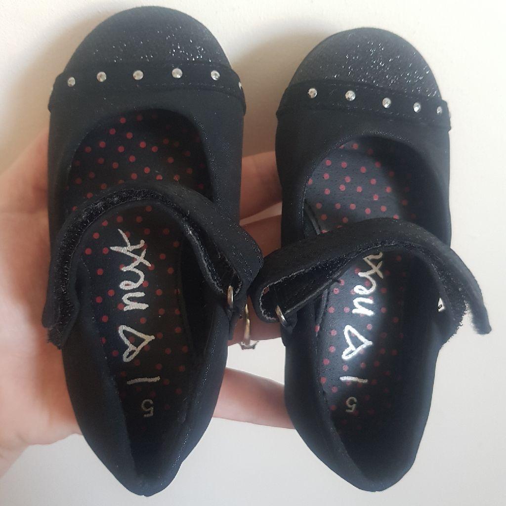 Black next shoes