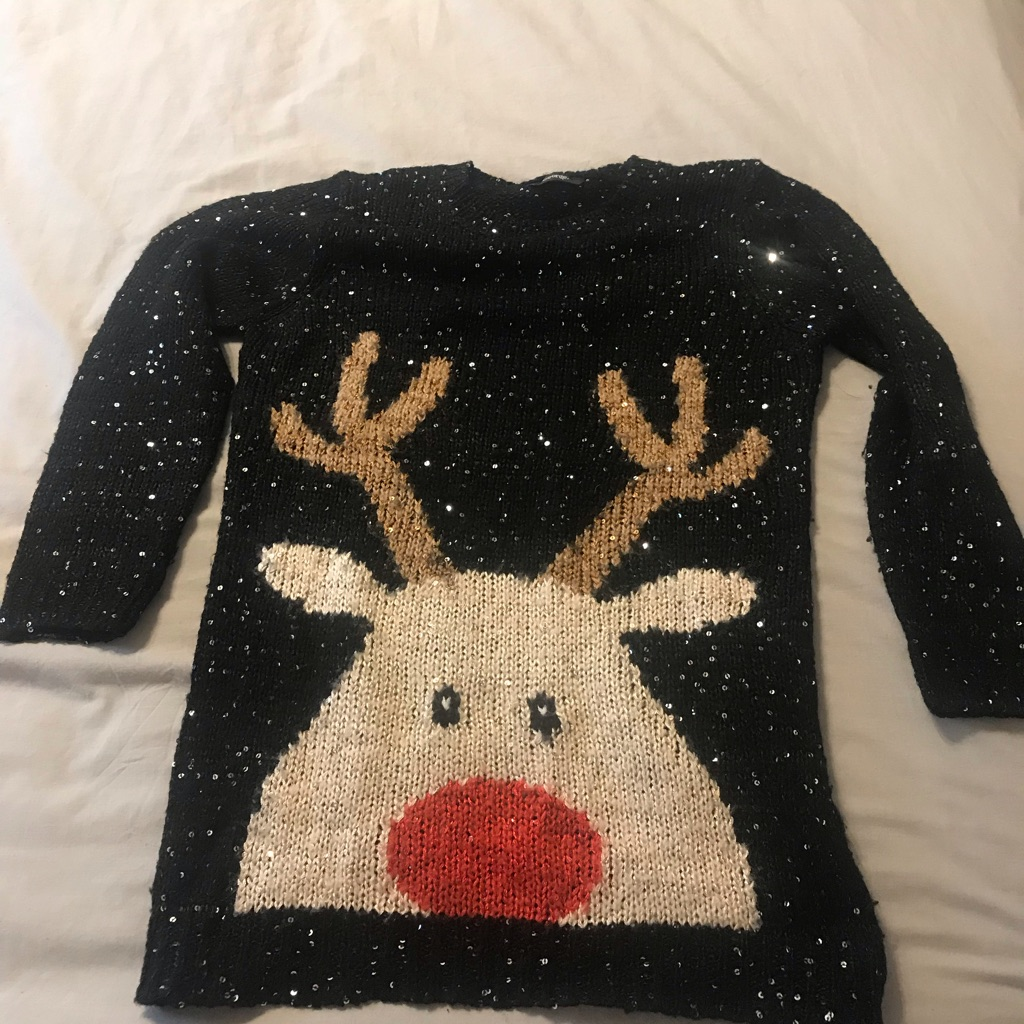 Rudolph Christmas jumper 9-10