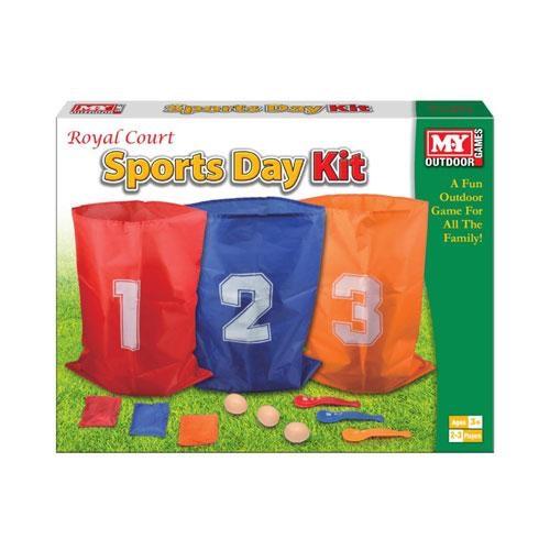 3 player sports day kit set