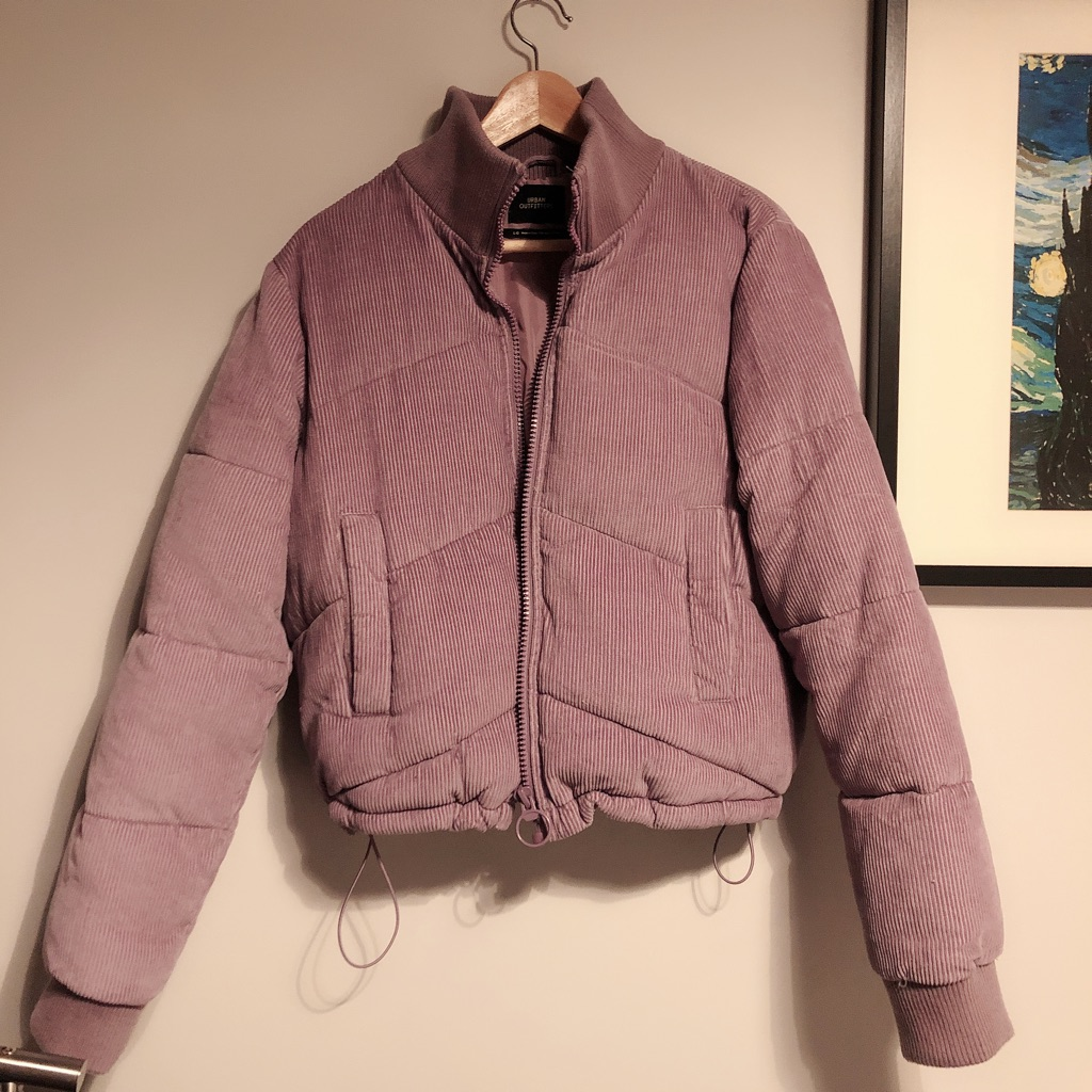 Urban outfitters jacket/coat woman violet size L