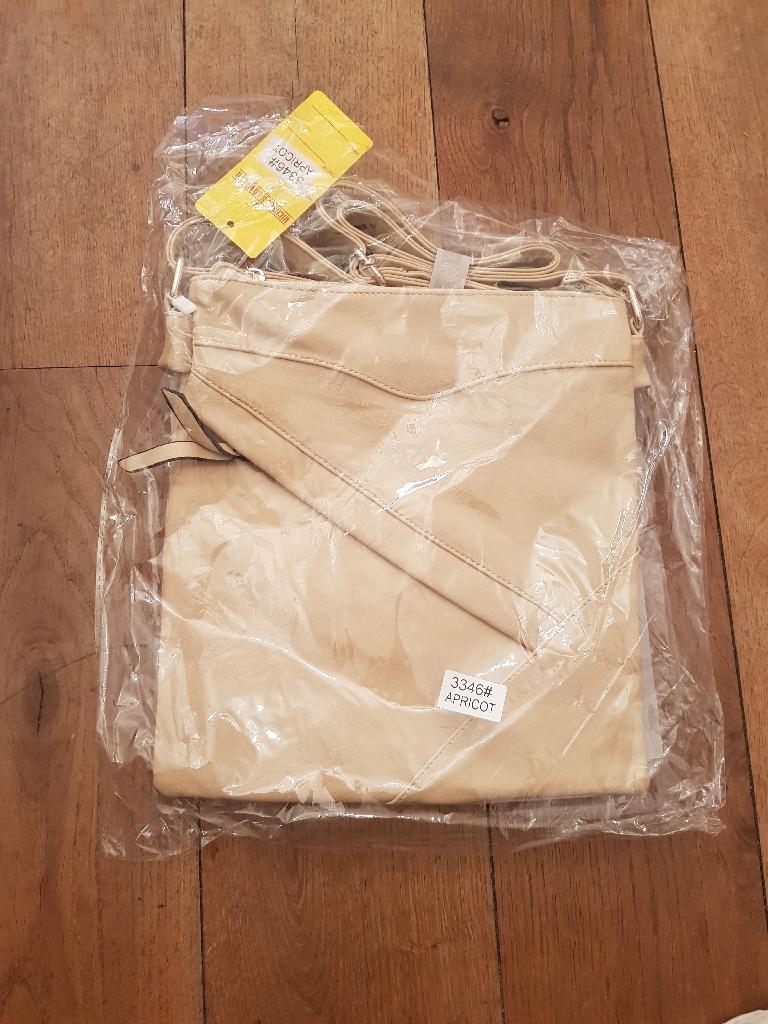 New cream bag