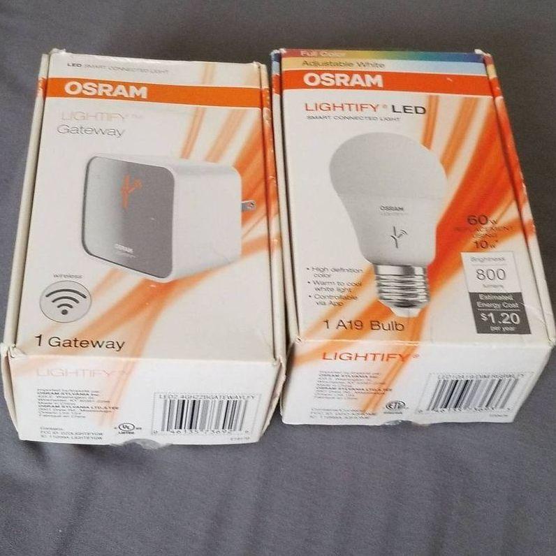Phone belong light led