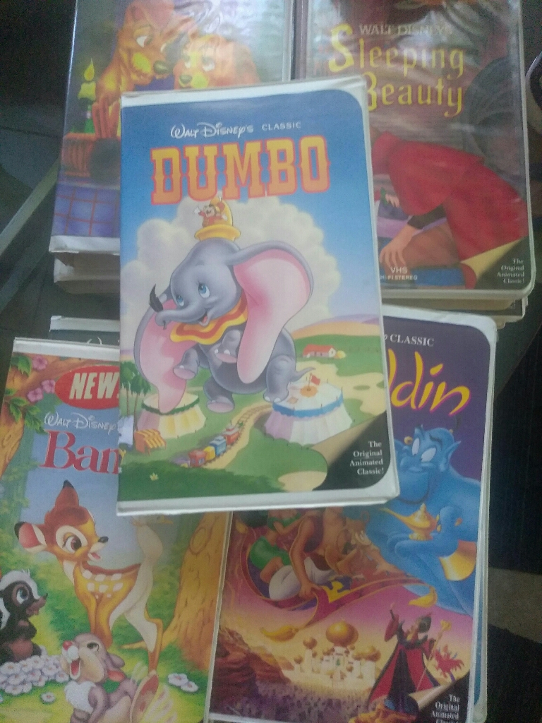 Vhs videos vintage black diamond Disney