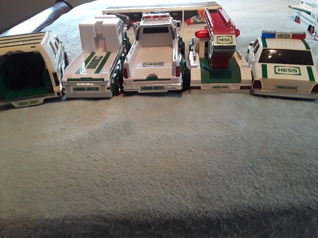 Hess Trucks and Police Car