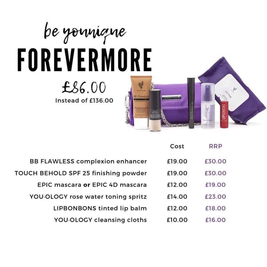 Younique forevermore kit