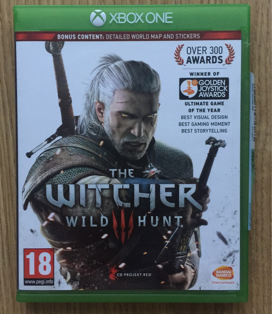 Witcher Xbox game
