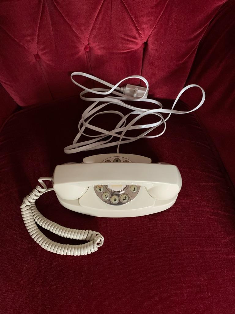 Telephone Vintage Push Button