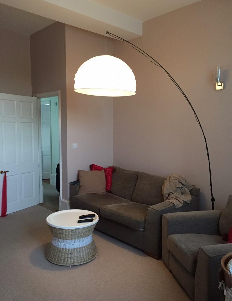 Giant IKEA 'umbrella' floor lamp