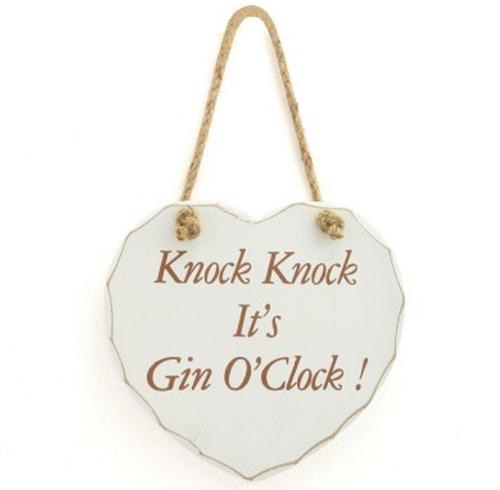 It's gin O'clock plaque