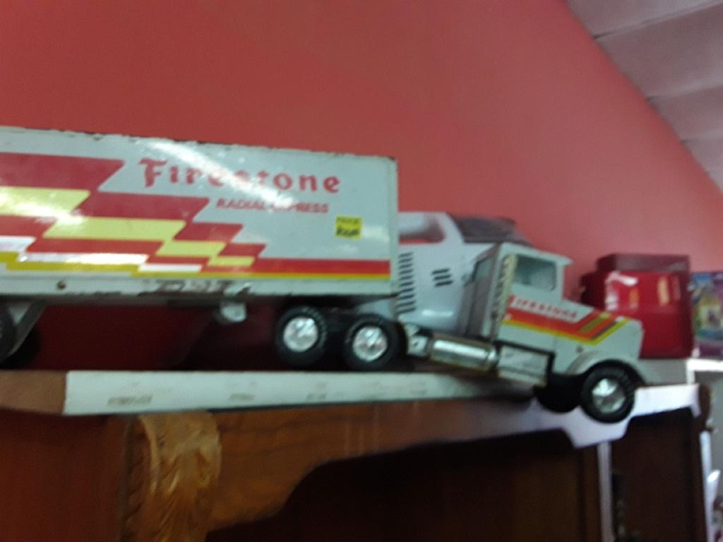 Vintage Firestone Tractor Trailer