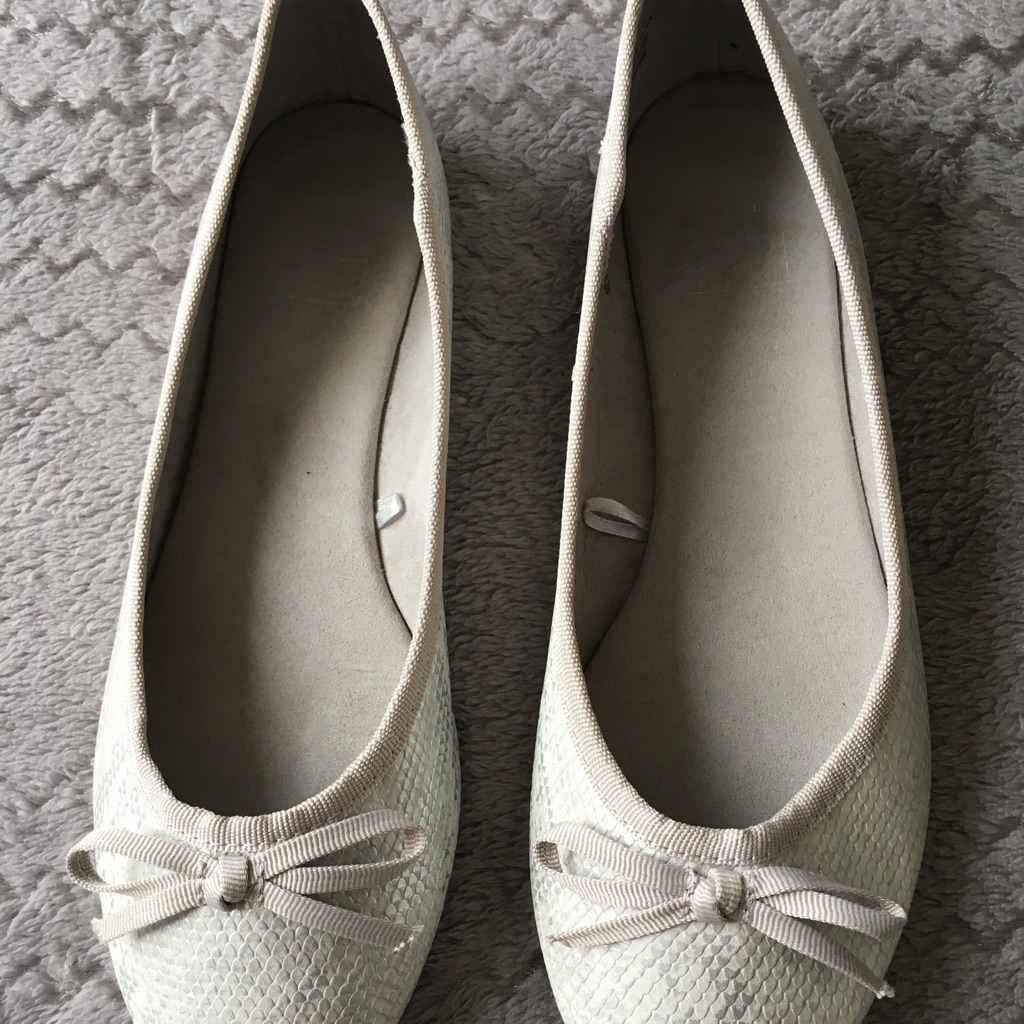 Silver Dolly shoes