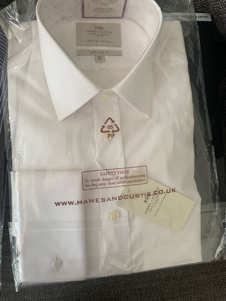 Hawkes & Curtis Brand New Shirt
