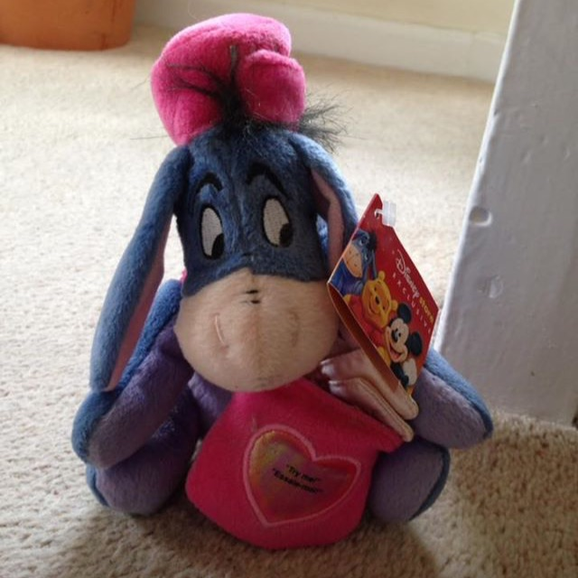 Disney Exclusive Postman Eeyore Teddy