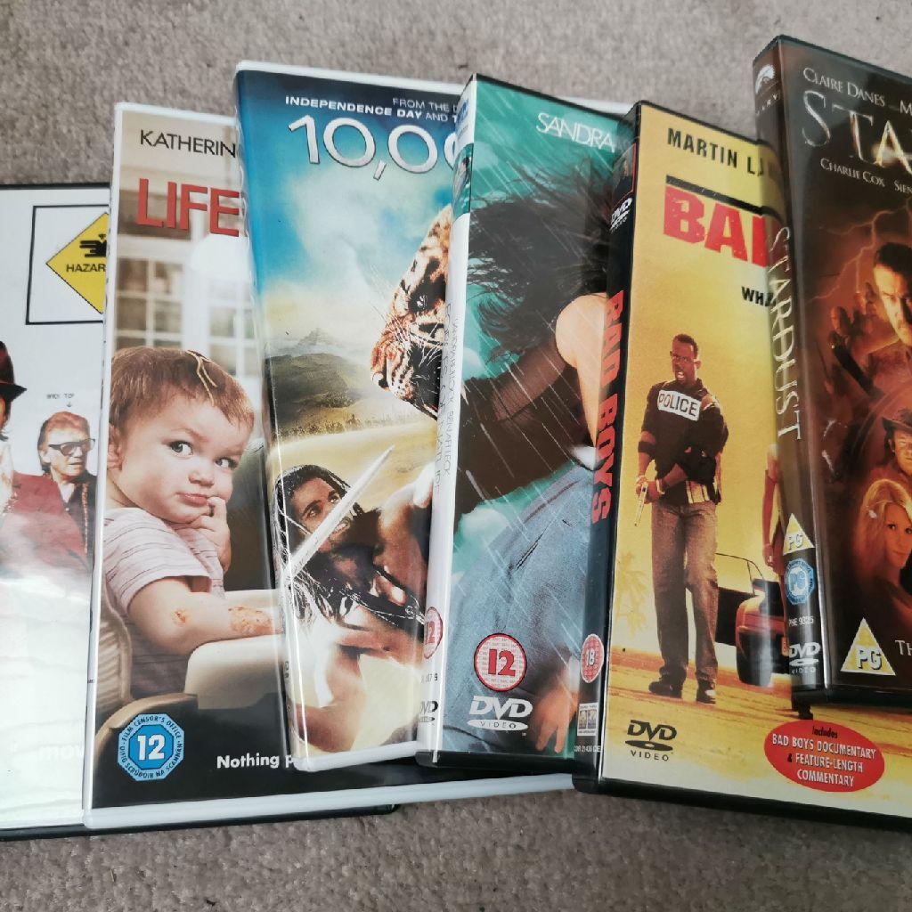 6 dvds