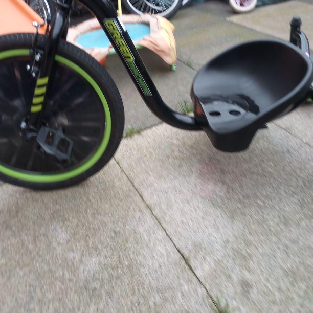 Go cart green machine