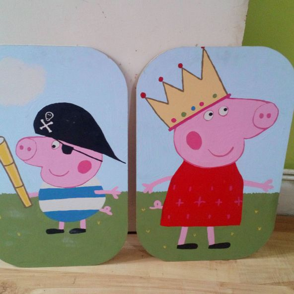 Peppa pig picture Taking offers!