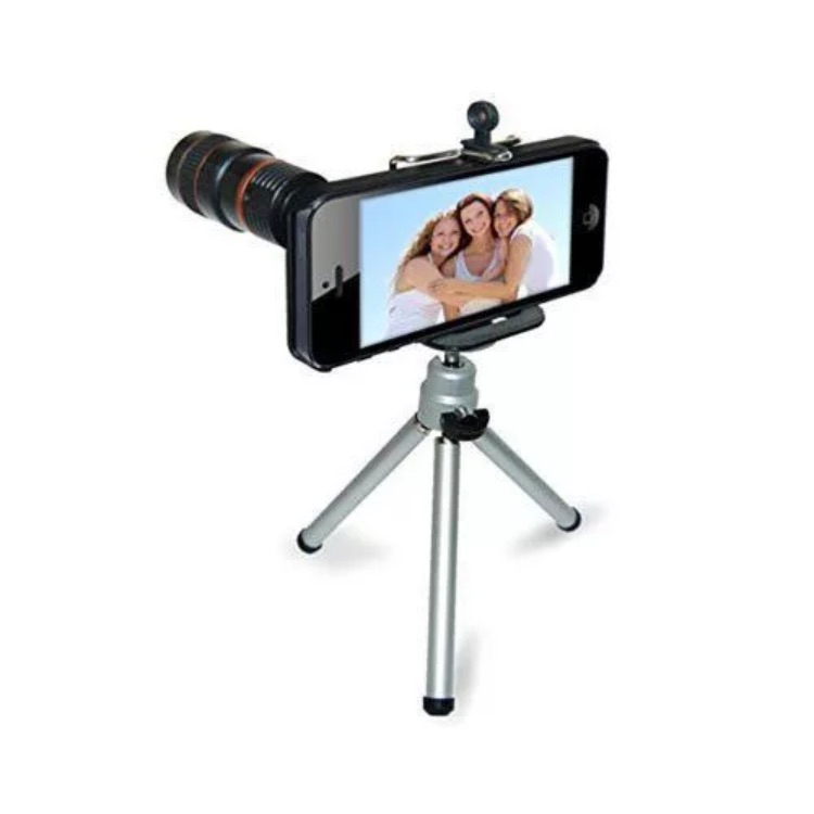 iPhone 4/4s Tripod and lenz