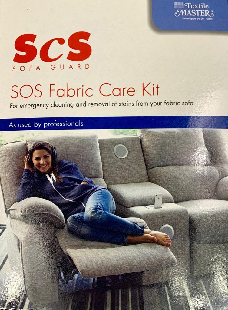 SCS Sofa Guard SOS Fabric Care Kit